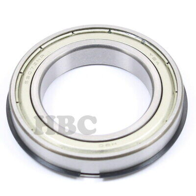 2X 6907 ZZ Ball Bearing 35mmX55mmX10mm Double Shielded Metal W//Snap Ring New