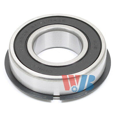 "Ball Bearing Wjb 6205-2Rsnr-16 With 2 Rubber Seals 1"" Bore With Snap Ring"