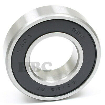 Ball Bearing HBC 62/22-2RS With 2 Rubber Seals 22x50x14mm