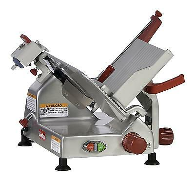 "Berkel 825A-PLUS 10"" 1/3 HP Manual Gravity Feed Economy Series Slicer"