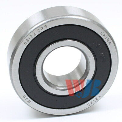 Ball Bearing Wjb 63/22-2Rs With 2 Rubber Seals 22X56X16 Mm