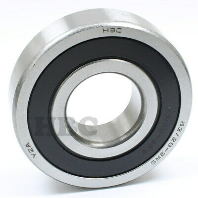 Ball Bearing Hbc 63/28-2Rs With 2 Rubber Seals 28X68X18 Mm