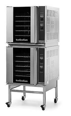 Moffat E32D5/2C Electric Double Convection Oven 5 Full Size Pan Mobile Stand