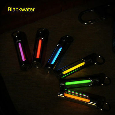 Blackwater KR36 Titanium Tritium tube fluorescent vial keyring Glow in the dark