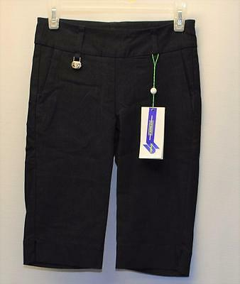 Ladies Size US 4 Deep Navy Daily Sports Super Stretch bermuda golf shorts