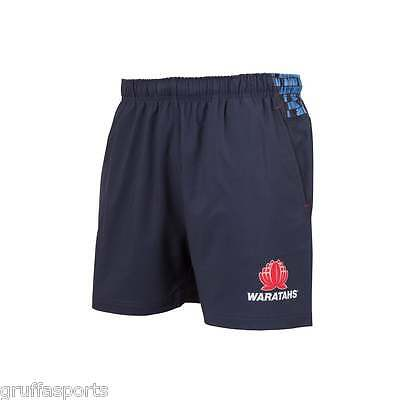 NSW Waratahs 2017 Gym Training Shorts Sizes S - 4XL New South Wales CCC Super 18