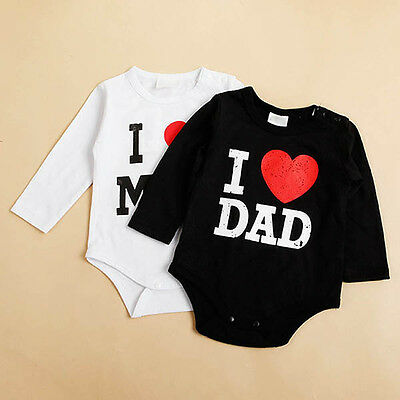 Infant Kid Toddler Baby Girl Boy Romper Stylish Print Jumpsuit Clothes Shirt LOT