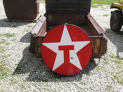 Vintage Texaco Gas Station Motor Oil Advertising Light Up Sign
