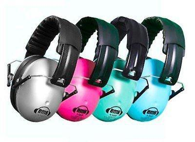 New Ems For Kids Earmuffs Hearing protection Age 6 Months Mid Teen 4 Colours
