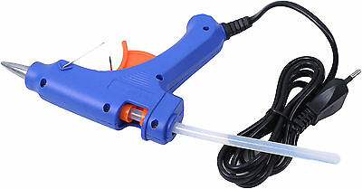 Portable Electric Heating Hot Melt Adhesive Glue Gun Use 7mm Sticks for Repairs