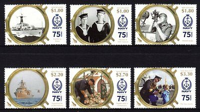New Zealand 2016 Navy Set 6 MNH