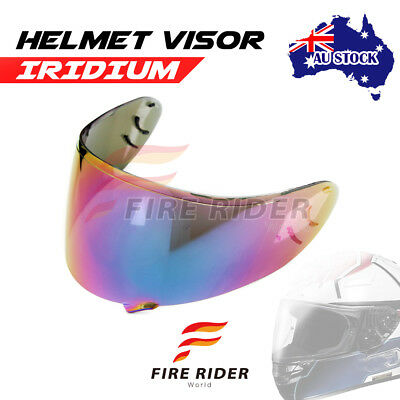 For Shoei Qwest X-Twelve X-SPIRIT 2 IRIDIUM Racing Helmet Visor Shield AU