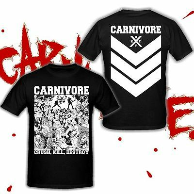 CARNIVORE - Crush, Kill, Destroy - T-Shirt [S-XXXL] - Type O Negative
