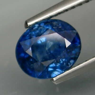 2.00Ct.Best Color! Top Blue Normal Heated Sapphire Madagascar Good Luster!