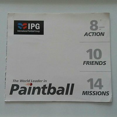 20 IPG Paintball Tickets