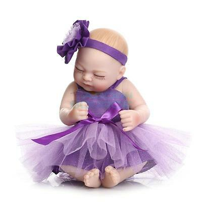 36CM POUPEE Reborn Baby Doll Silicone Realistic Real Life Dolls Bambole Toy