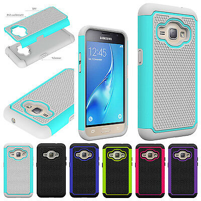 For Samsung Galaxy Amp 2 NEW Shockproof Heavy Duty PC + TPU Hybrid Case Cover