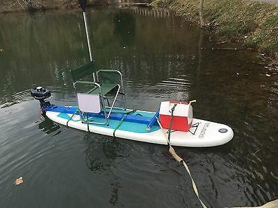 full kit for gas engine with leg steering wheel for sup-stand up paddle board