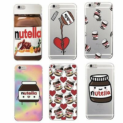 Coque Nutella Chocolate Soft Case Samsung Galaxy S8 S A J All Iphone 4 5 6 7 8 X