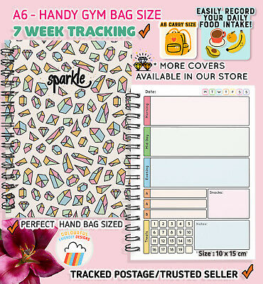Diet Food Diary Slimming World Compatible Any PLAN Weight Loss track Journal KC