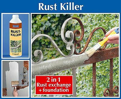Wenko Rust Killer 250Ml *free Delivery* Uk Stock 100% Rust Prevention