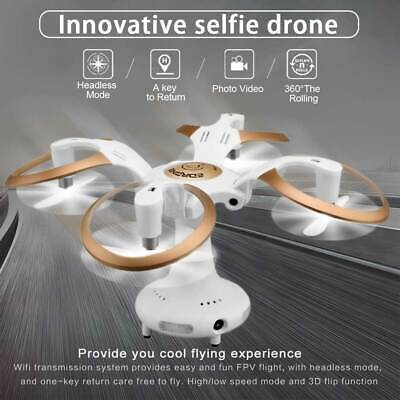 Foldable Mini Drone HD Camera 4CH 6Axis RC Quadcopter Headless Remote Flying Egg