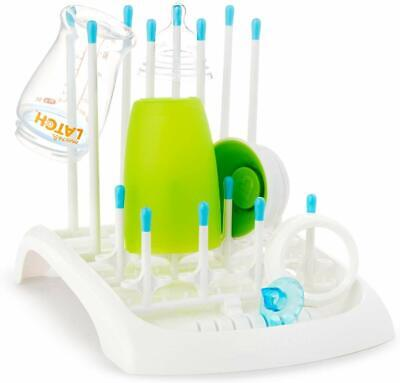 Munchkin Deluxe Drying Rack For Baby Bottles & Teats - NEW