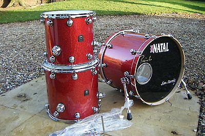 NATAL 'Originals' Series (pro drums) in ASH. 5 drum shell pack drum kit.