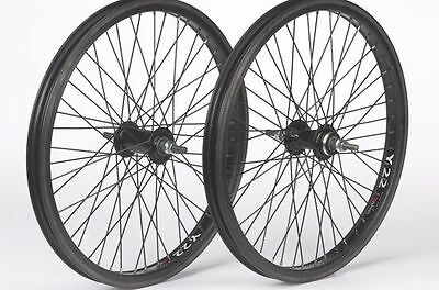 Diamondback BMX 20 inch BMX Wheel Rear 48H 3/8 inch axle Black 20 inch
