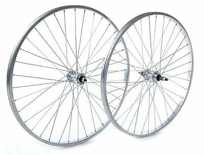Tru-build Wheels 26 x 1.75 Rear Wheel Alloy hub Silver screw on Silver 26 inch