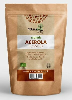 Certified Organic Acerola Cherry Powder Extract - Freeze Dried - ALL SIZES
