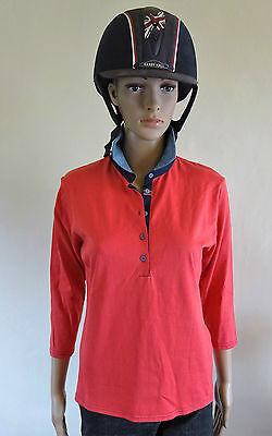 New ** Harry Hall Polo Top ** Ladies Top Horse Riding  Ladies Size 14 Large