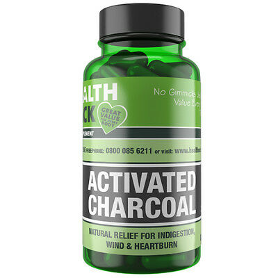WindAway Activated Charcoal Supplement | 90 Capsules | Teeth Whitening