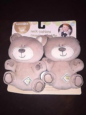 Babies R Us Neck Support Cushion Bear Car seat Baby Infant