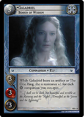 Lord of the Rings LOTR TCG - Reflections - 9R+14 Galadriel, Bearer of Wisdom
