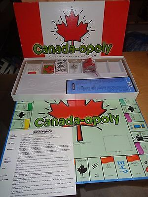 Canada-opoly Game - Complete