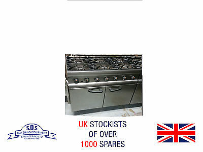 Lincat 6 Burner Natural Gas Commercial Cooker with Oven - Fully Reconditioned