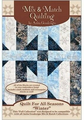 QUILT FOR ALL SEASONS WINTER Anita Goodesign Embroidery Cd