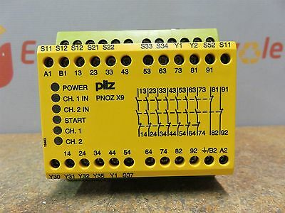 Pilz PN0Z X9 774605 106607 120 Vac 24 V 5.5 W Safety Relay Switch New