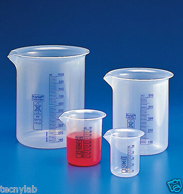 Vaso Precipitado Grad Azul 50ml PP/Beakers PP Blue grad 50ml Low Form