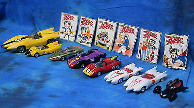 Mixed Lot Of Johnny Lightning Speed Racer Toy Cars Total With Stickers