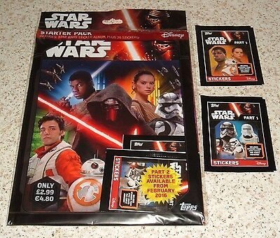 Stickers Collection TOPPS STAR WARS au choix
