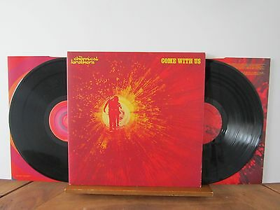 THE CHEMICAL BROTHERS Come With Us 2002 VIRGIN/FREESTYLE DUST DOUBLE VINYL LP