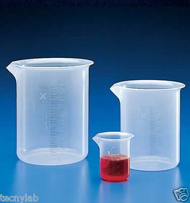 Vaso Precipitado 1000ml PP/Beakers PP 1000ml Low Form
