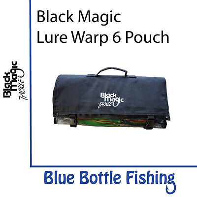 NEW Black Magic 6 Pocket Lure Wrap from Blue Bottle Fishing