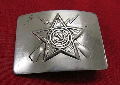 Russian Soviet Military Security Servise VOHR Buckle. RARE.