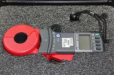 Greenlee CMGRT-100 Hand Held Clamp-On Ground Rod Earth Resistance Tester Meter