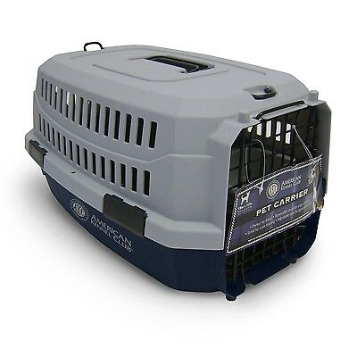 American Kennel Club Pet Carrier Small Size Blue Color