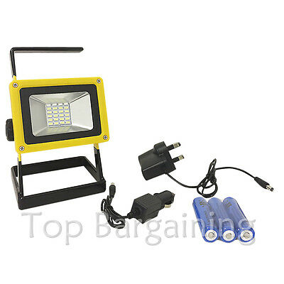 LED Flood Light Outdoor Portable Rechargeable Flood Light Lamp 100W
