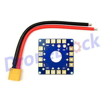 ESC Power Distribution Board Battery Connection for quadcopter multiCopter